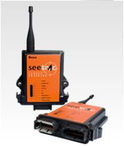 The building blocks : shown here the Seetrac SOLO system;1 Base, 1 Tender Unit